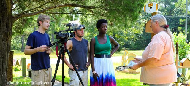Brandon Sutton and the Spirit of the Gulf Coast Documentary Team