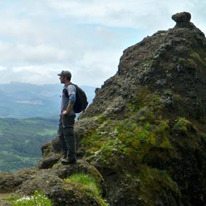 Brandon Sutton Hiking