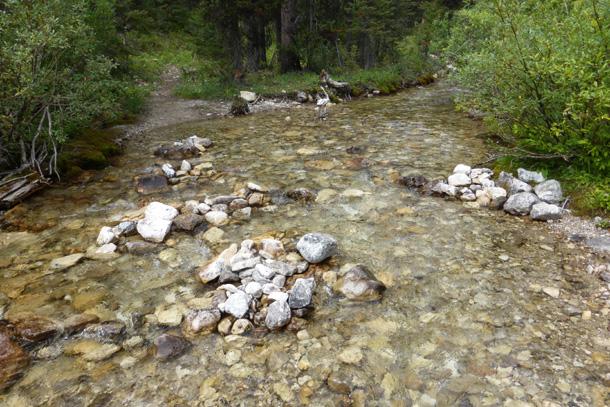 Crossing Pentagon Creek
